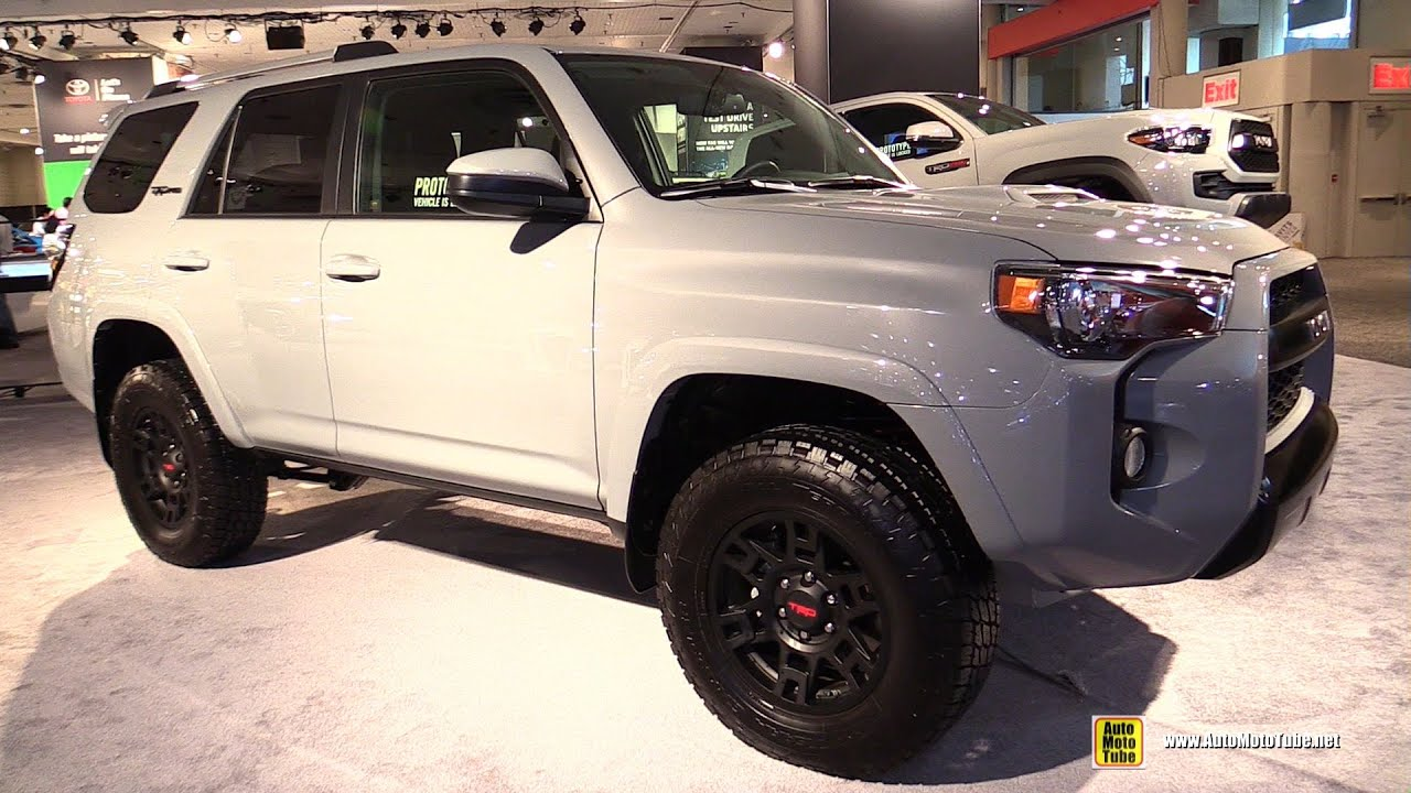 2017 toyota 4runner trd pro exterior walkaround 2016 new york auto show youtube. Black Bedroom Furniture Sets. Home Design Ideas