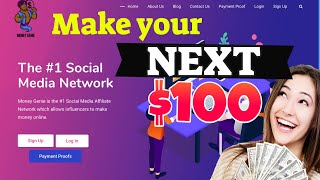 Sign up today for a $35 bonus! https://share.moneygenie.co/qwertyface make money online with genie. genie pays you referring friends and fami...