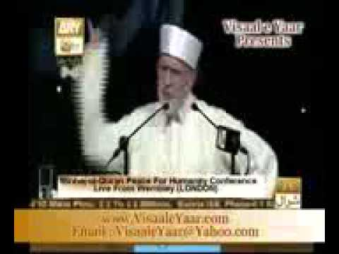 English Speech  Dr  Tahirul Qadri