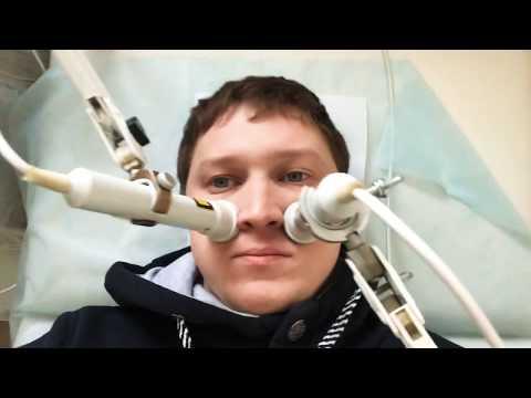 GrekovTV -Лечение гайморовых пазух носа, прогревание, магнитная терапия