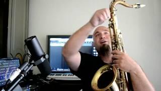 """Joe Albano """"The Madman"""" Westcoast Sax Buzz Screw Comparison and MoFo Tenor Demo"""