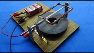 DIY DC motor-motor điện 1 chiều