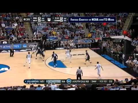 UNC vs Villanova NCAAT Highlights (#700)