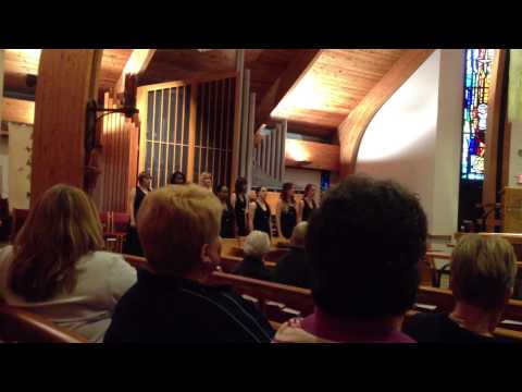 North Hagerstown High School Chorus at Haven Lutheran Church