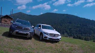 Duster 2019, Mercedes GLC Hill Offroad