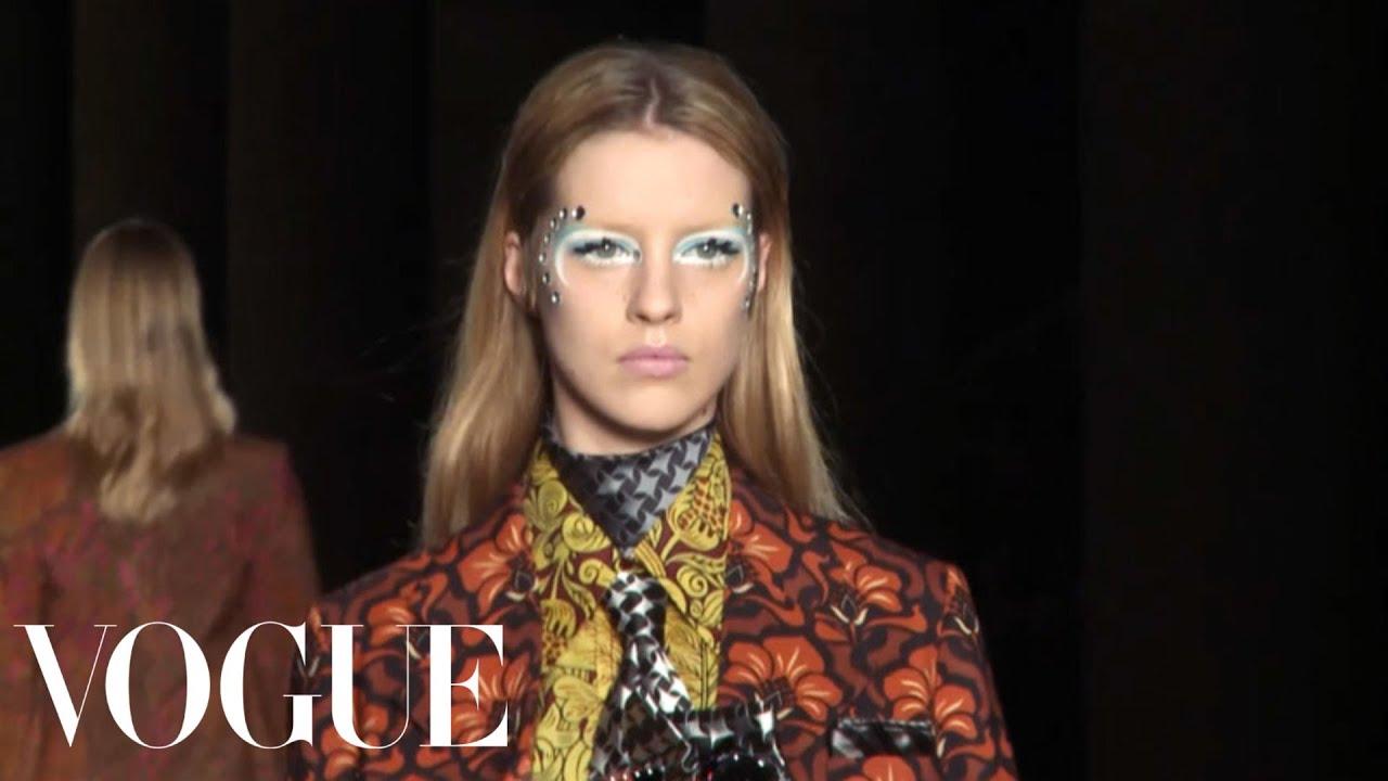 7ff1c22aaea8e Miu Miu Ready to Wear 2012 Vogue Fashion Week Runway Show - YouTube