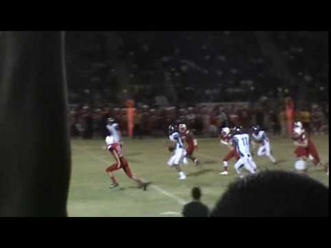 Solomon Enis 53 yard TD Run from Wildcat