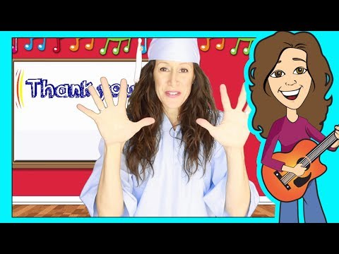 Graduation Song Tutorial for Preschoolers and Kindergarten  Thank you Sing Along  Patty Shukla