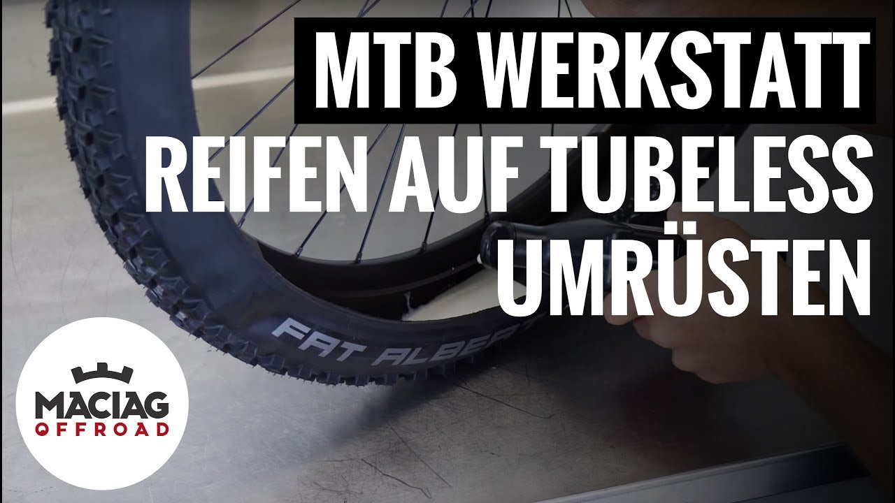 mtb reifen auf tubeless umr sten tutorial maciag. Black Bedroom Furniture Sets. Home Design Ideas
