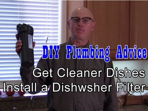 How To Install A Dishwasher Water Filter