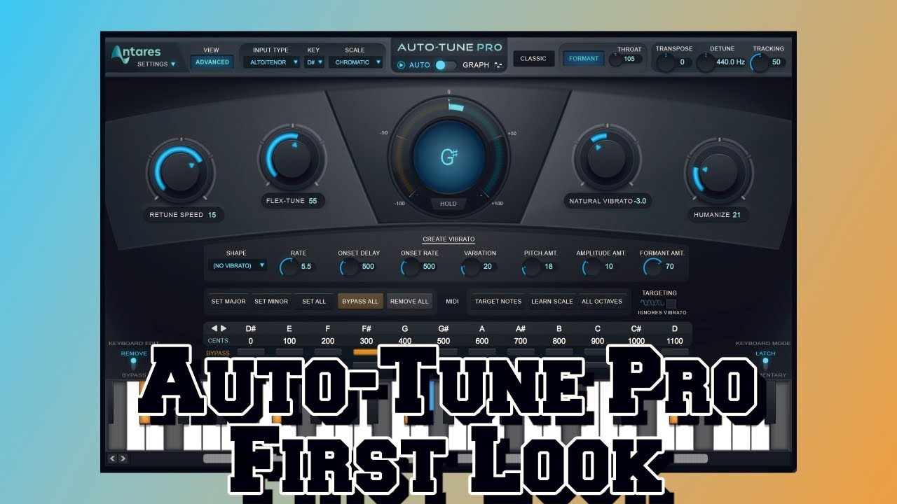 first look auto tune pro plugin review is this the best auto tune or not youtube. Black Bedroom Furniture Sets. Home Design Ideas