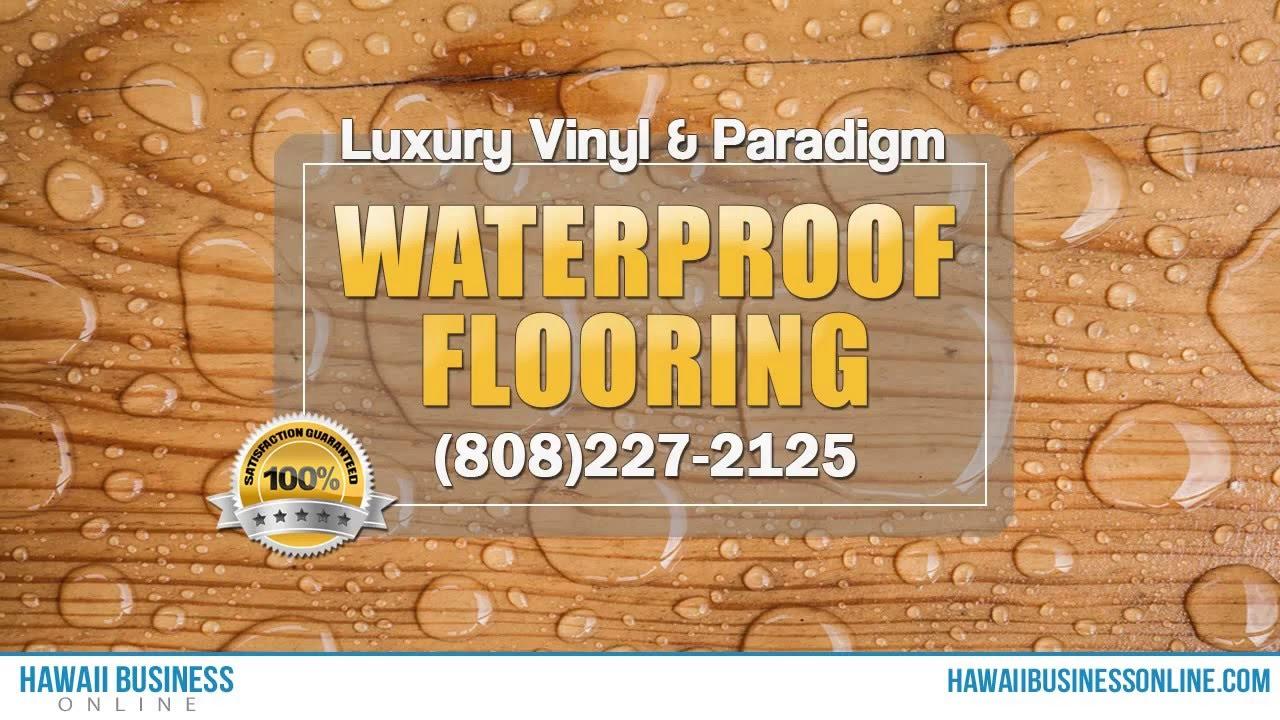 paradigm flooring hawaii (808) 227 2125 - youtube