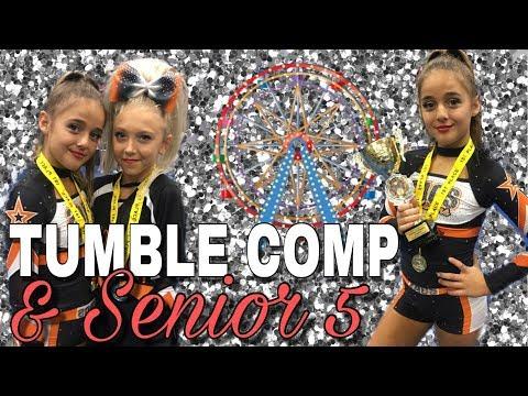 TUMBLE comp & Cheer Senior 5r - Spring Carnival CHEER comp DAY 2