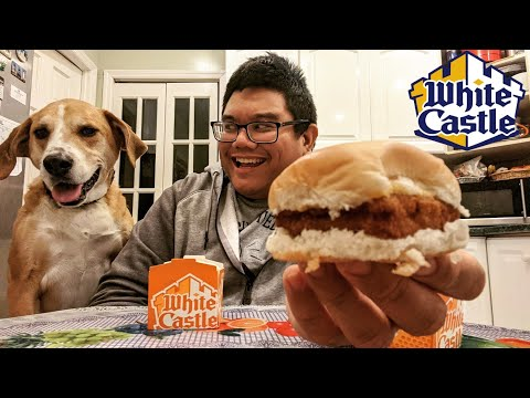White Castle Panko Breaded Fish Slider | Food Review