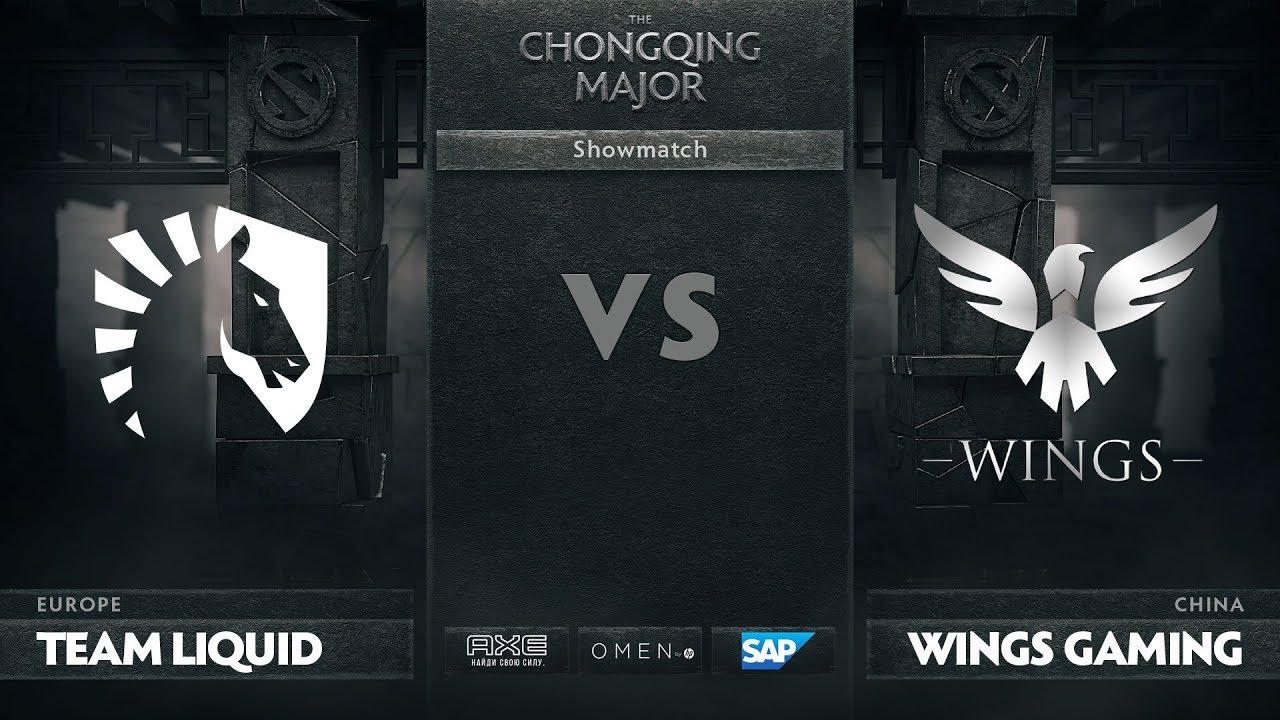 [EN] Team Liquid vs Wings Gaming, Showmatch, The Chongqing Major