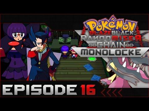"Pokemon Blaze Black Random Chain-Monolocke  #16  """"Elite Four Ann & Crystal"""""