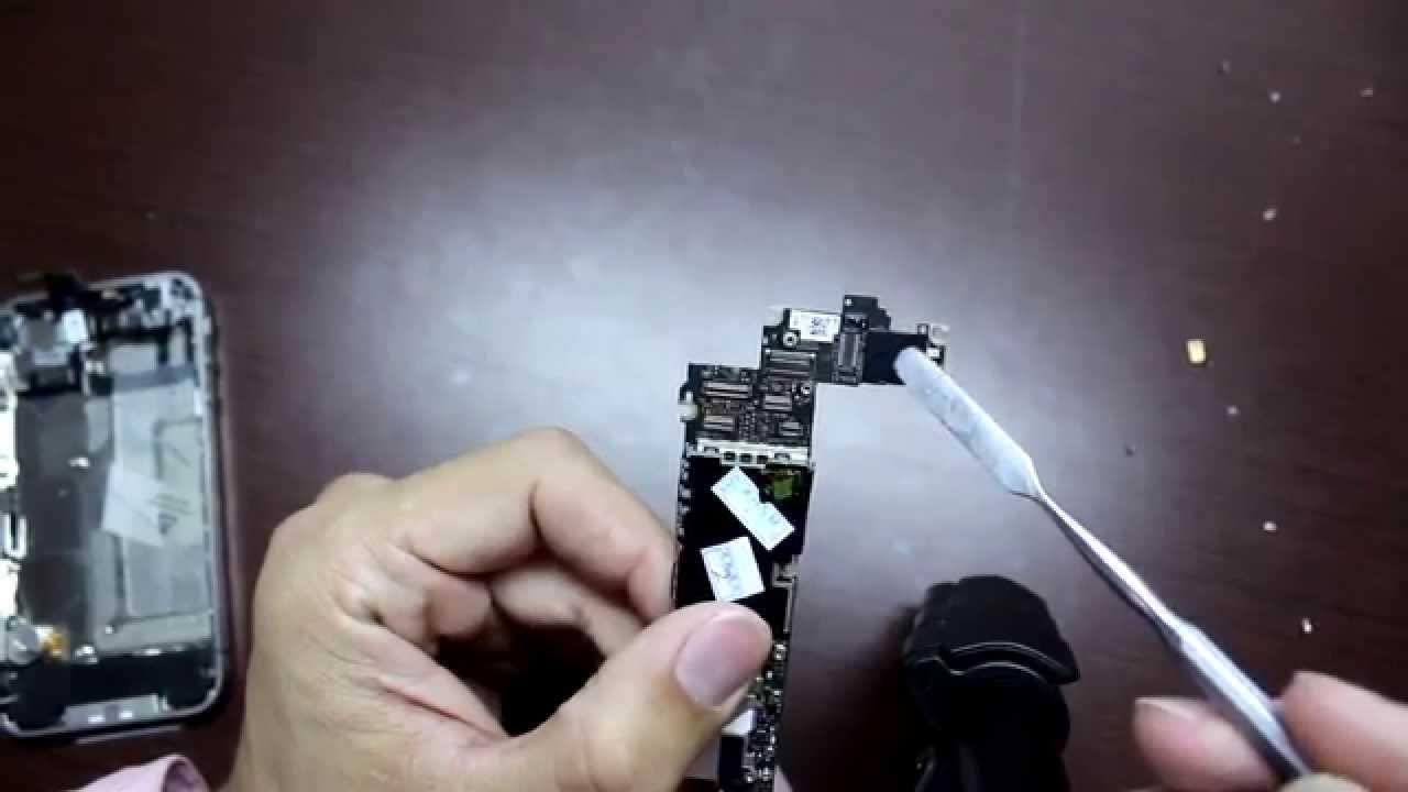 Замена wifi модуля iphone 4s своими руками