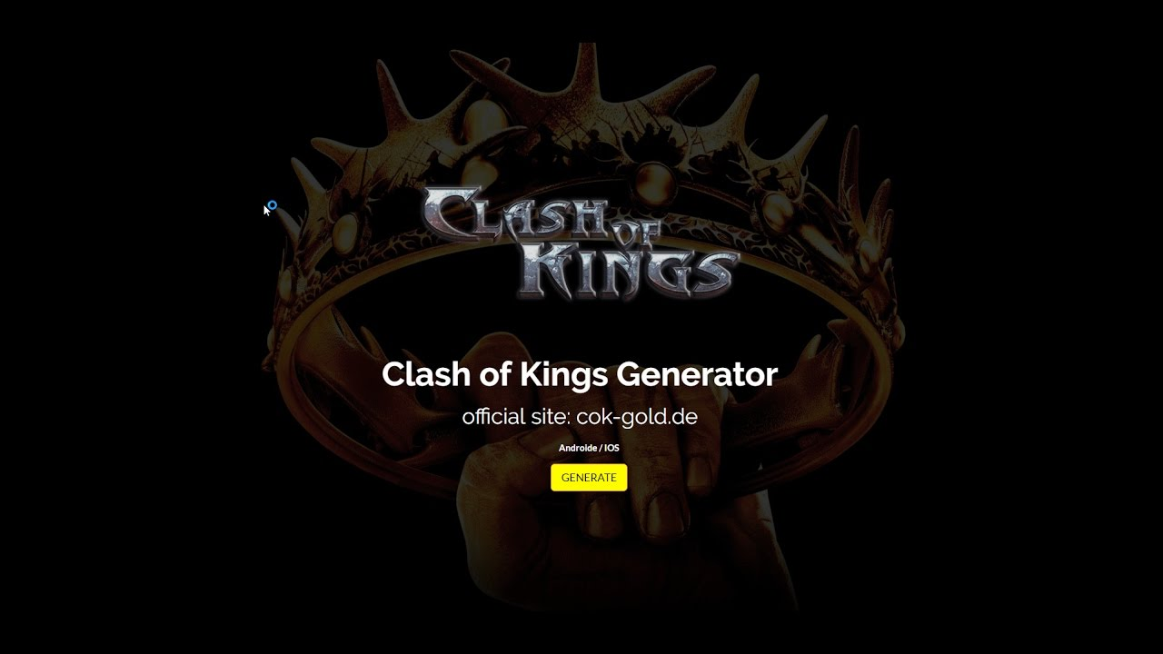 clash of kings the west hack gold