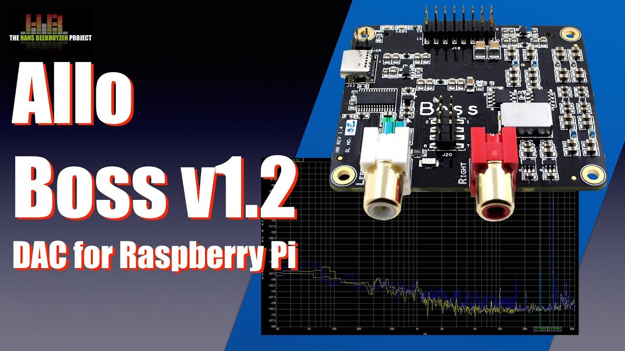 Allo Boss v1 2 DAC for Raspberry Pi