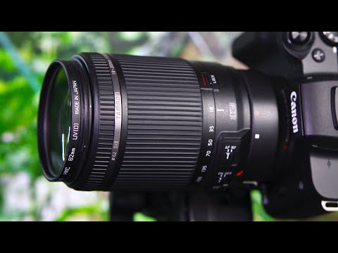 Tamron EF 18-200mm f3.5-6.3 Di II VC Lens Details | ft. Canon M50 & 30D Tests