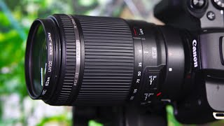 Tamron EF 18-200mm f3 5-6 3 Di II VC Lens Details ft Canon M50 amp 30D Tests