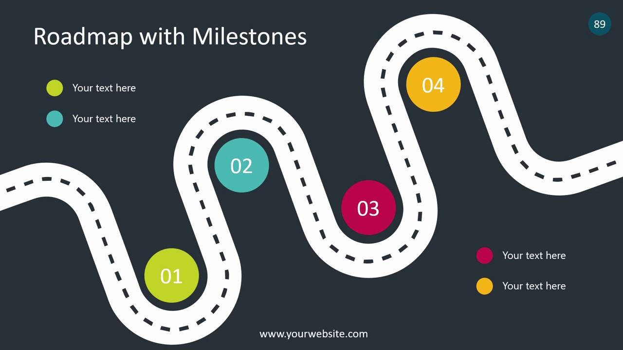 animated powerpoint template infographics set smiletemplates
