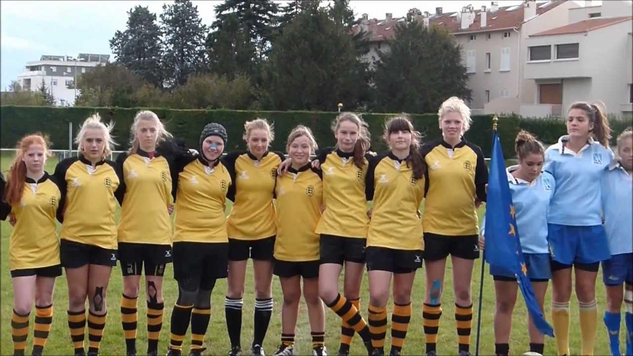 rugby heidelberg bourg l 232 s valence match amical freundschaftsspiel