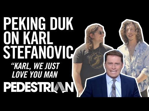 Peking Duk Talk Karl Stefanovic