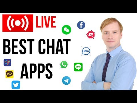 Best Chatting & Social Media Apps For Learning English    Robin