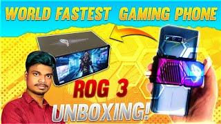 ROG PHONE 3 | World Fastest Gaming Mobile UNBOXING & IMPRESSIONS 144hz BINOD