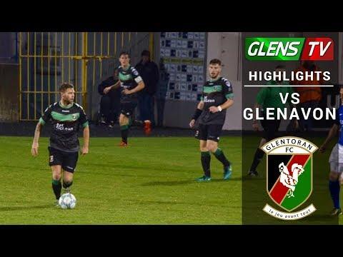 Glenavon vs Glentoran - 25th August 2017