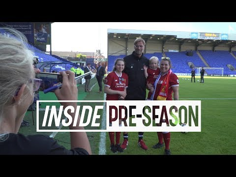 Inside Pre-Season: Tranmere 0-4 Liverpool | Behind-the-scenes tunnel cam from the first friendly