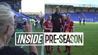 Unseen footage from the Reds' pre-season opener | Tranmere 0-4 Liverpool | TUNNEL CAM