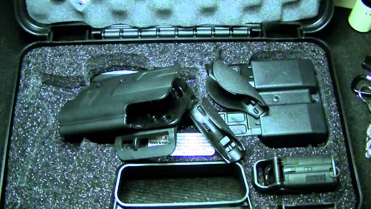Smith And Wesson 12039 Unboxing: Unboxing Of Smith And Wesson M&P 9mm Carry And Range Kit