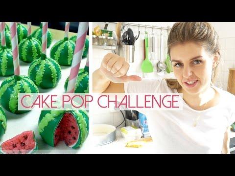Pinterest Cake Pop Challenge - Wassermelone | Lovethecosmetics