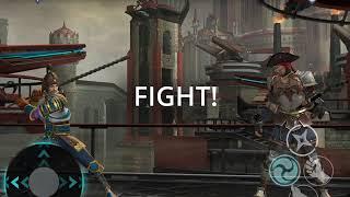 Shadow Fight 3 - vs Stronger opponent (suspense 1st round)