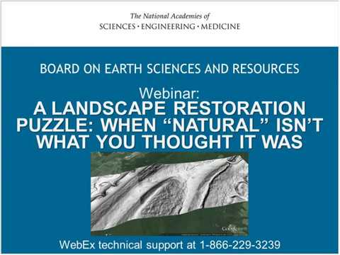 """A Landscape Restoration Puzzle: When """"Natural"""" Isn't What YOou Thought It Was"""
