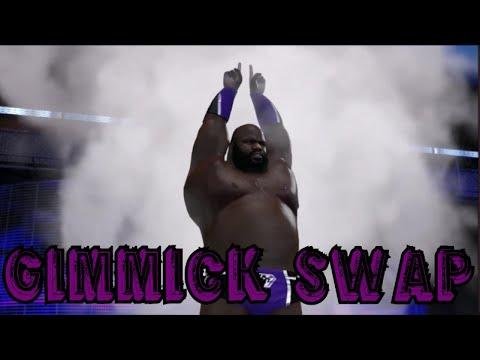 WWE 2K16 | Gimmick Swap w/ Neville & Mark Henry