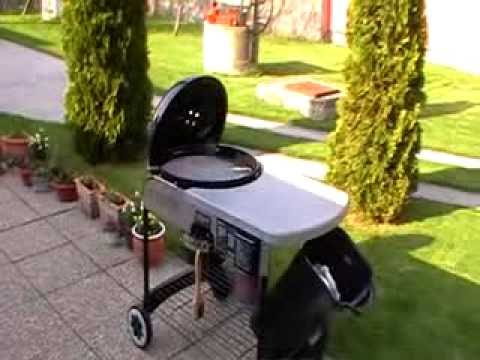 weber performer touch n go grill youtube. Black Bedroom Furniture Sets. Home Design Ideas