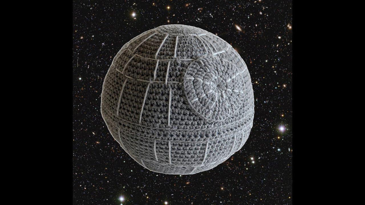 Crochet death star pillow youtube bankloansurffo Images