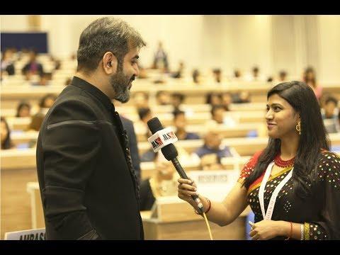 Aryeman Ramsay, Renowned Bollywood Actor Awarded At Hindi Cinema Samman Samaroh/MSTV