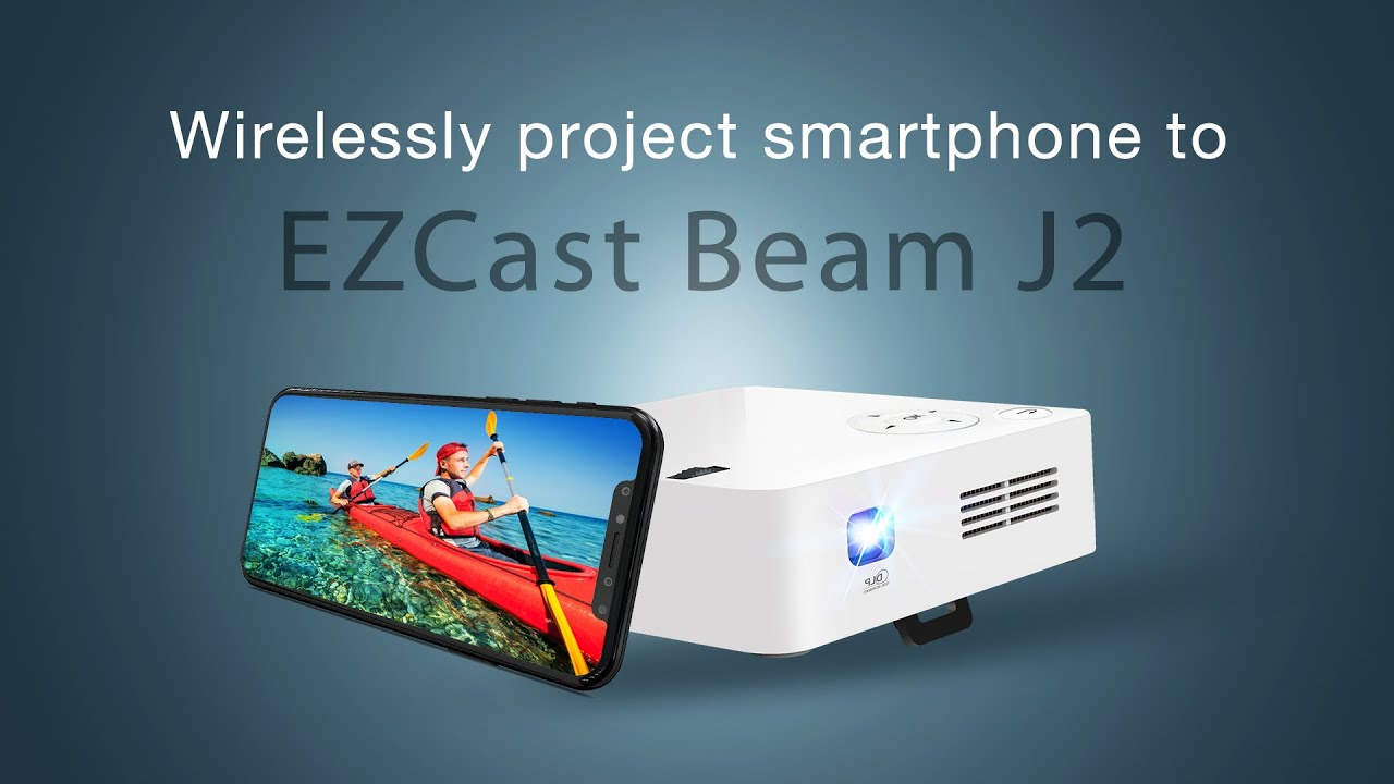 How To Wirelessly Project Iphone And Android To Ezcast Beam J2 2018