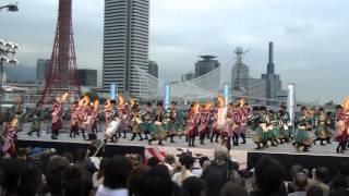 【公式】東京花火 「胡蝶の夢」 神戸よさこい2013 1日目 高浜岸壁会場