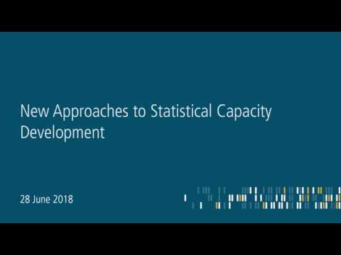 New Approaches to Statistical Capacity Development