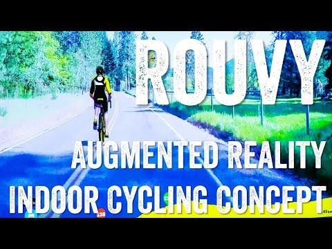 Rouvy Augmented Reality Indoor Cycling Concept // Zwift Gaming Competitor?