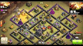 Learn how to beat Anti-hogs bases by using hog riders