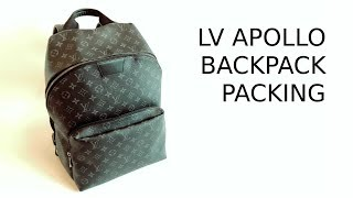6c51662f1414 Packing 4 Ways Louis Vuitton Apollo Backpack|Carry-on