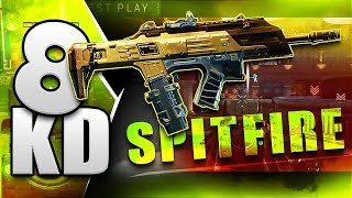 8KD with GOLD SPITFIRE - BLACK OPS 4