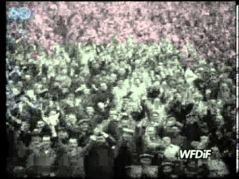 Polska - ZSRS 2-1. Gerard Cieślik! i jego 2 gole