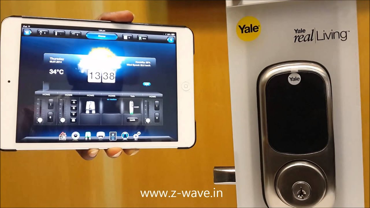Yale Lock With Fibaro Systems Youtube